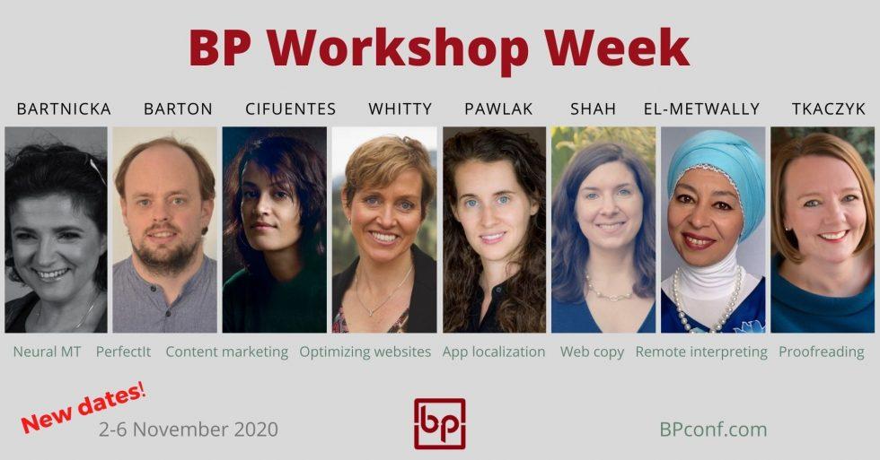TKACZYK TO TEACH AT BP WORKSHOP WEEK