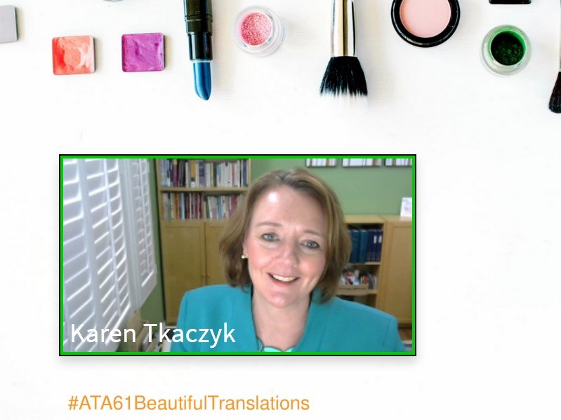 TKACZYK SPEAKS AT 61ST AMERICAN TRANSLATORS ASSOCIATION CONFERENCE